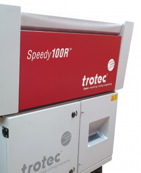 Quart d'heure laser - Trotec Speedy 100