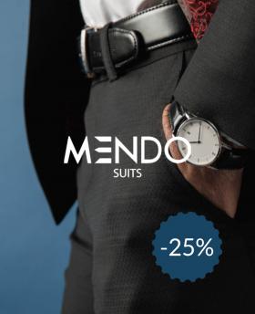 25% de réduction sur MendoSuits
