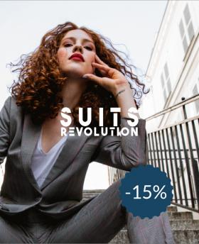 15% de réduction sur SuitsRevolution