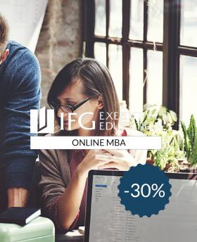30% de réduction sur IFG 100% Online MBA