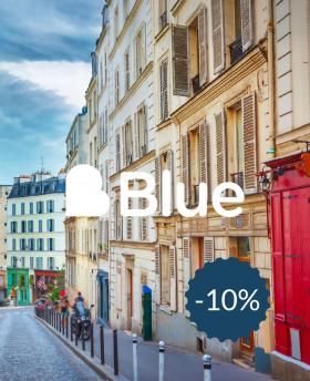 10% de réduction sur Blue Agence Immobilière