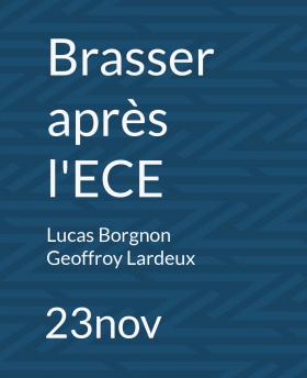 Bmaker : Brasser après l'ECE